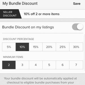 Other - Bundle 2 or more and get 10% off!!!